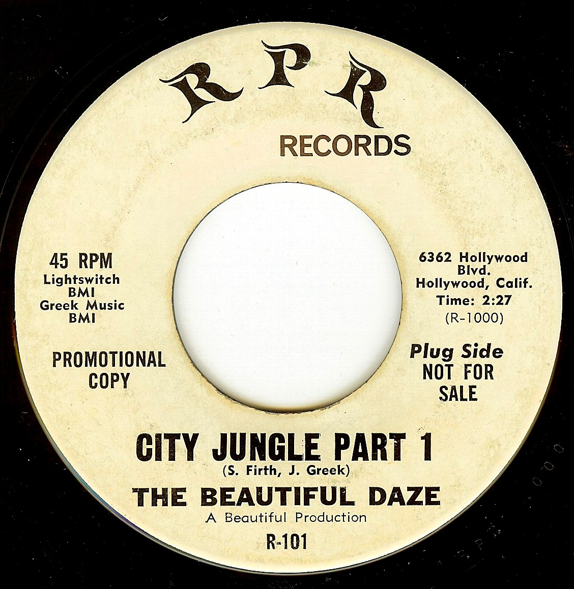 the beautiful daze city jungle