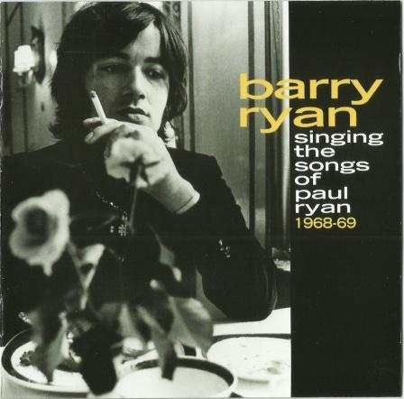Barry Ryan - Sings The Songs Of Paul Ryan